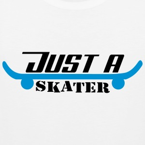Just A Skater - Tank top męski Premium