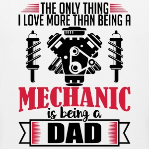 Mechanic Dad - funny fathers day gift - Men's Premium Tank Top
