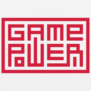 Game Power - Männer Premium Tank Top