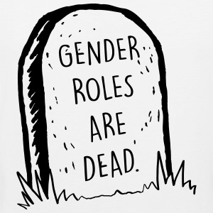 Gender Roles Are Dead - Men's Premium Tank Top