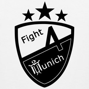 Fight 4 München - Logo - Premium singlet for menn