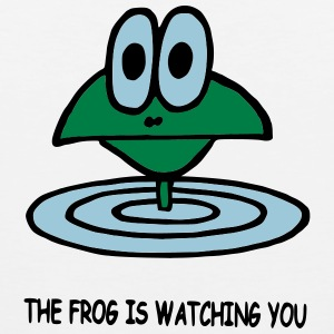 the frog is watching you - Männer Premium Tank Top