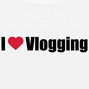 I love Vlogging - Männer Premium Tank Top
