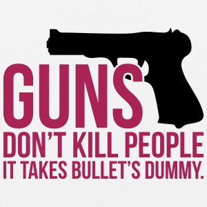 Funny guns dont kill people - Men's Premium Tank Top