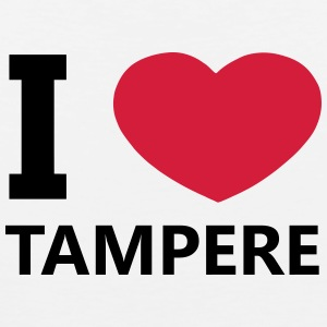 I Love Tampere - Premium singlet for menn