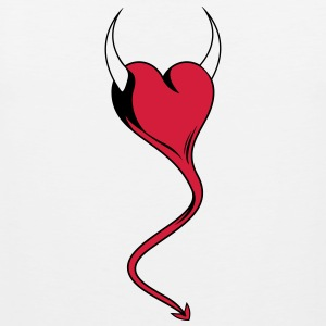 Devilish Love - Men's Premium Tank Top