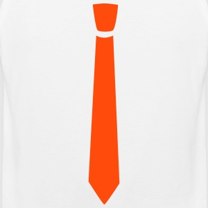 normal klasse Tie - Premium singlet for menn