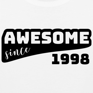 Awesome since 1998 / Birthday-Shirt - Men's Premium Tank Top
