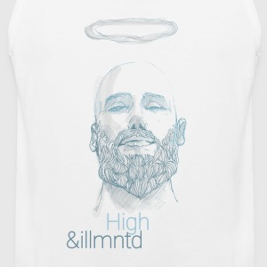 "Herbalist - ""High & Illuminated"" - Premium singlet for menn"