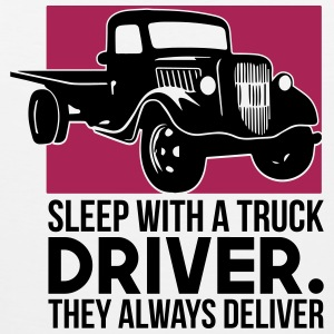 Sleep with a truck driver - Men's Premium Tank Top
