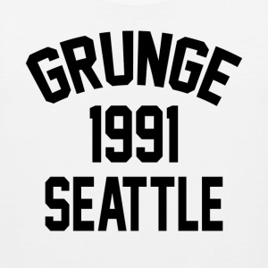 Seattle Grunge 1991 - Männer Premium Tank Top