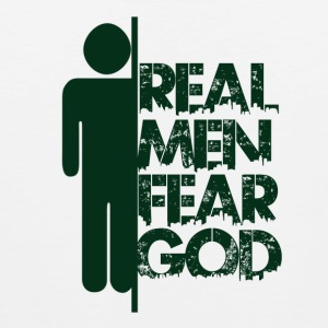 Real Men Fear God - Believe - Men's Premium Tank Top