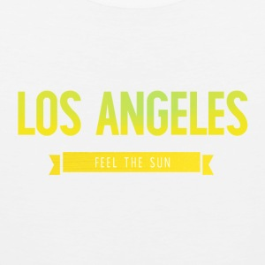 Typografie LOS ANGELES FEEL THE SUN - Männer Premium Tank Top