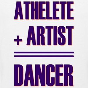 Athlete + artist = dancer - Men's Premium Tank Top