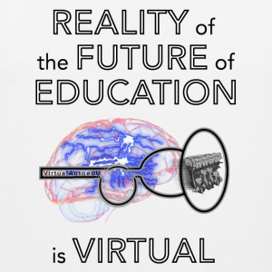 Reality of the future of education - Miesten premium hihaton paita