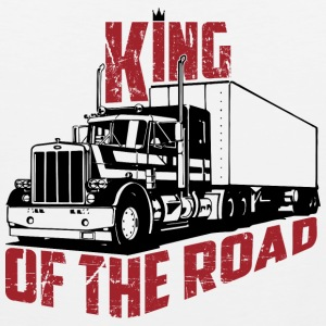 King Of The Road - Premium singlet for menn