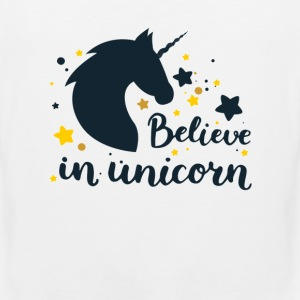 BELIEVE IN UNICORN - Männer Premium Tank Top