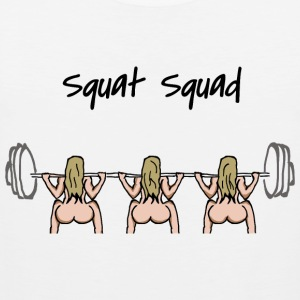 Squat squad - Men's Premium Tank Top