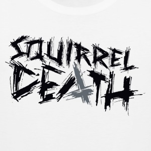 Squirrel DEATH - Logo positivt - Premium singlet for menn
