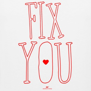 fix You - Mannen Premium tank top