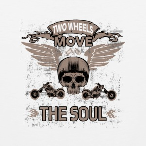 TWO WHEELS MOVE THE SOUL! - Männer Premium Tank Top