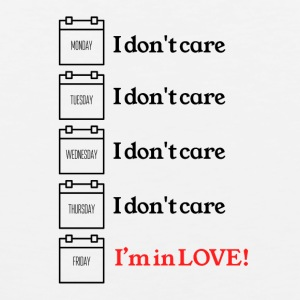 I do not care - Men's Premium Tank Top