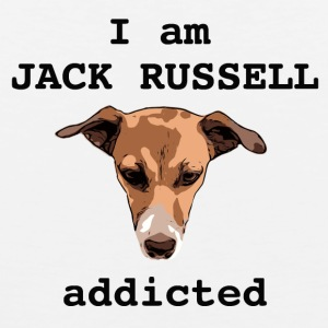 Jack russel addicted - Men's Premium Tank Top