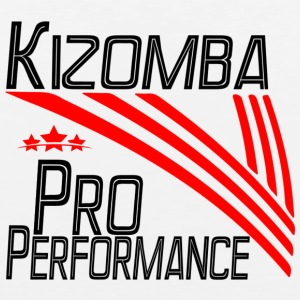Kizomba Pro Perfomance black - Pro Dance Edition - Men's Premium Tank Top