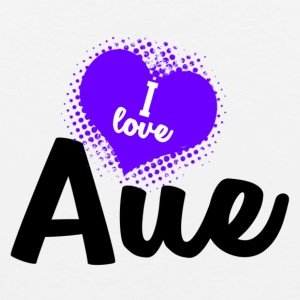 I Love Aue - Premium singlet for menn