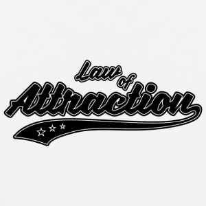 Law of Attraction - Mannen Premium tank top