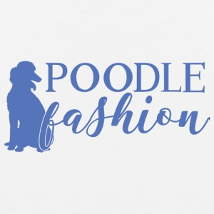 Dog / Poodle: Poodle Fashion - Men's Premium Tank Top