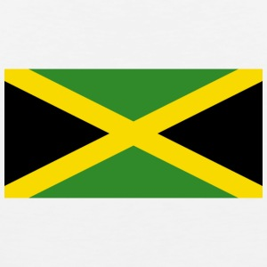 National Flag Of Jamaica - Herre Premium tanktop