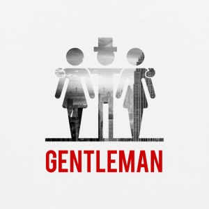 Gentleman med 2 Ladies - Premium singlet for menn