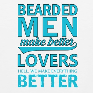 Bearded Men - Men's Premium Tank Top