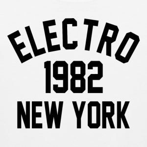 Electro 1982 in New York - Männer Premium Tank Top