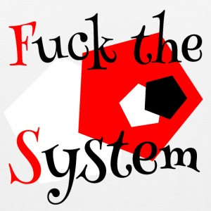 Fuck the System 1 - Tank top męski Premium