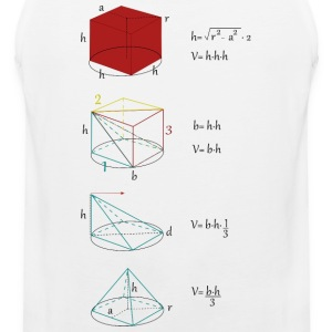 Mathman - Men's Premium Tank Top