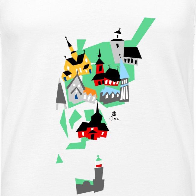 Åboland × Eva: Kimitoöns kyrkor