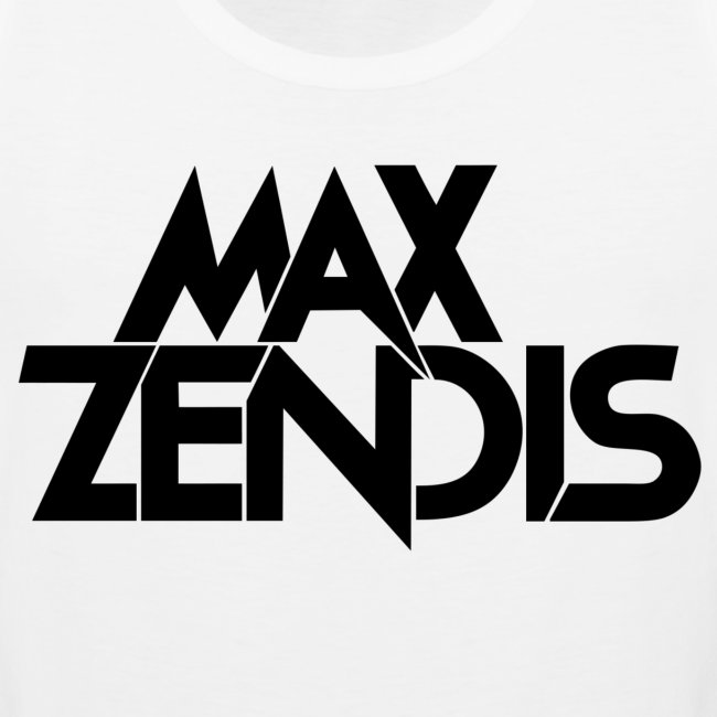 MAX ZENDIS Logo Big - White/Black
