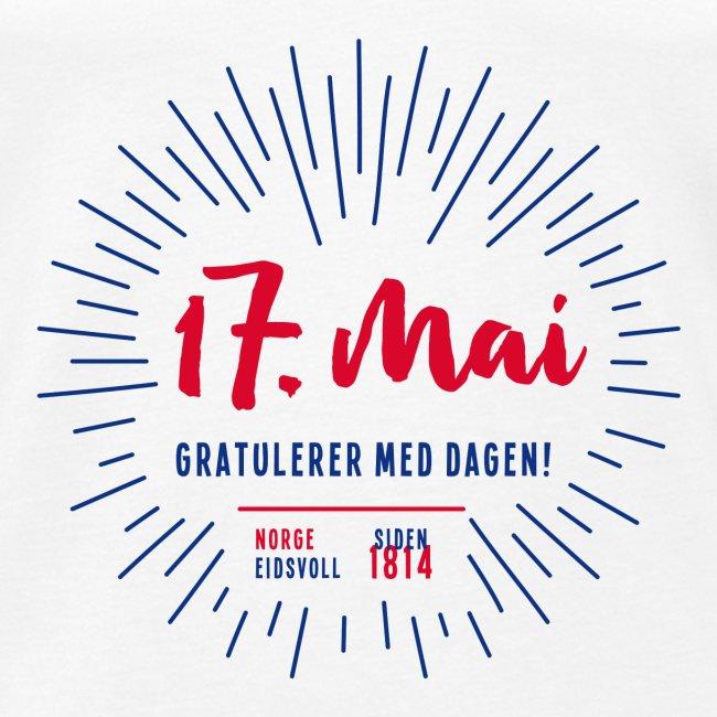 17. mai T-skjorte - Det norske plagg
