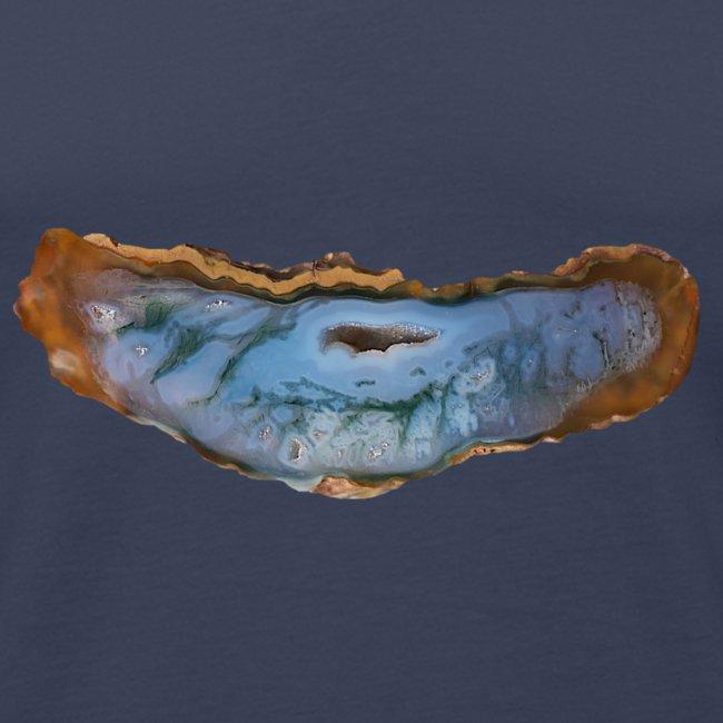 Achat Mineral Quarz Geologie Schmuckstein Druse