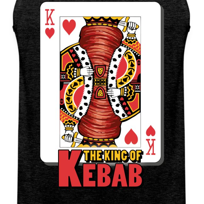 The King Of Kebab (Cotto & Frullato) T-Shirt Uomo