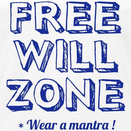 FREE WILL ZONE - Canotta premium da uomo