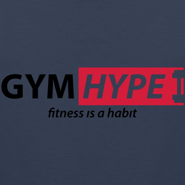 gym logo fitness is a habit ai