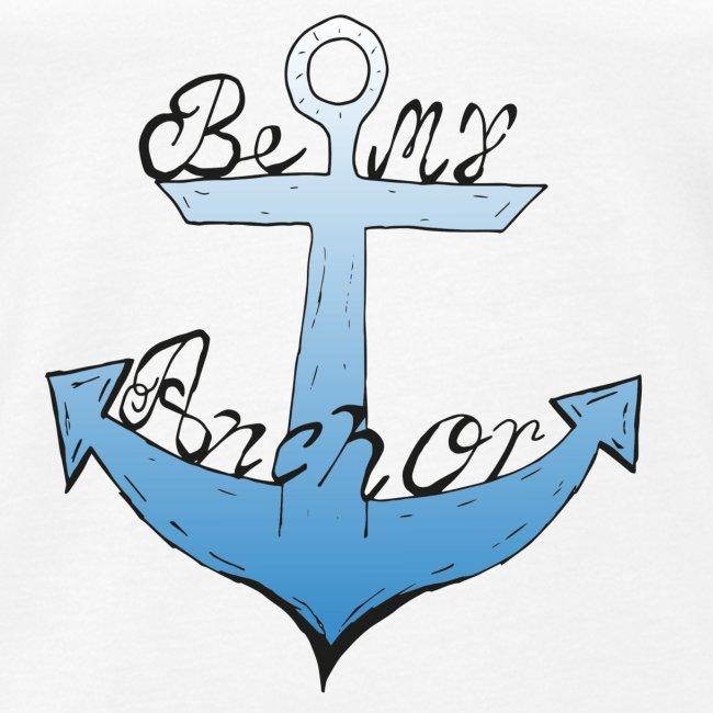 Be my anchor weiß Herren