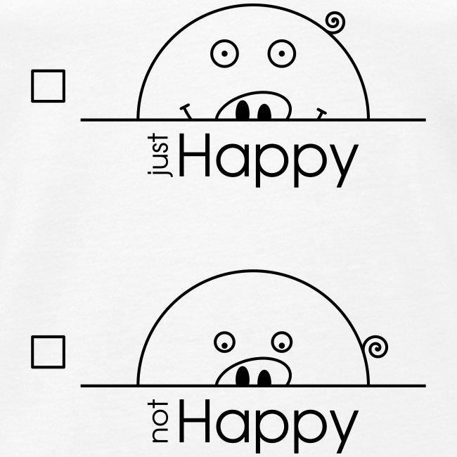"""Happy Rosanna - """"just / not Happy"""""""