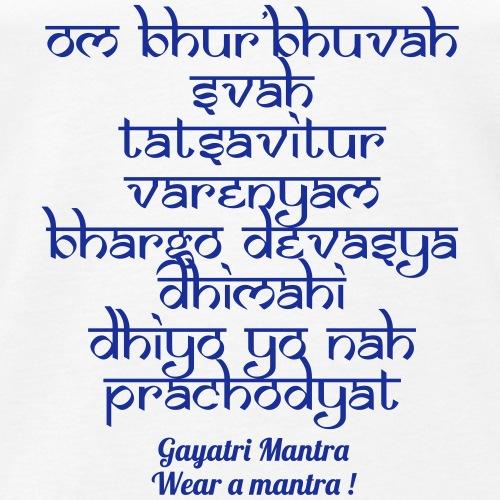 OM Bhur Bhuva Svaha - Canotta premium da uomo