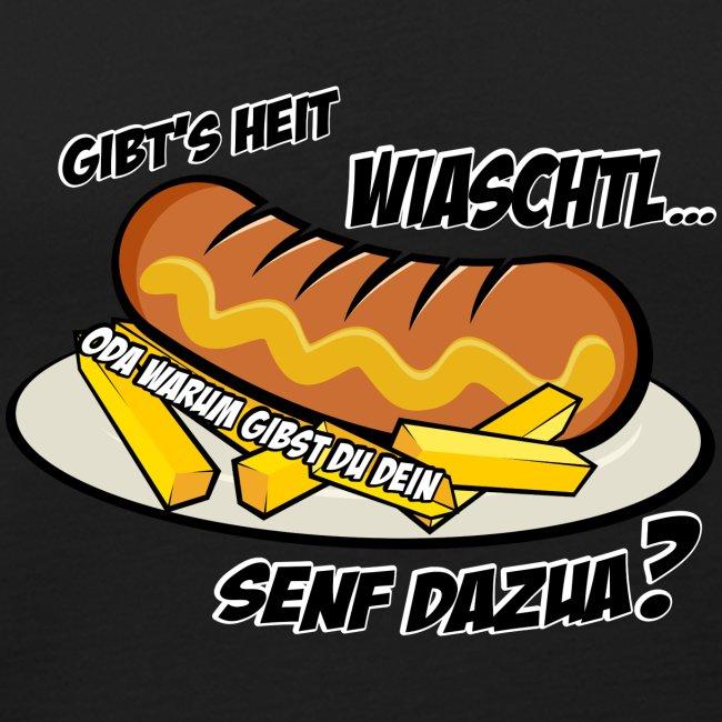 Vorschau: Wiaschtl mit Senf - Männer Premium Tank Top
