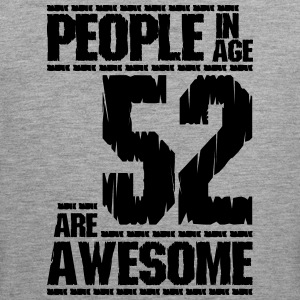 MENNESKER I ALLE 52 ER AWESOME - Premium singlet for menn
