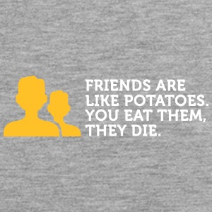 Friends Are Like Potatoes - Men's Premium Tank Top